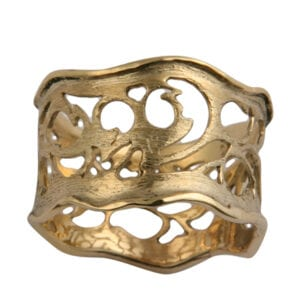 Refind gold ring
