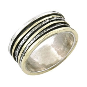 Beautiful Silver & Gold Ring