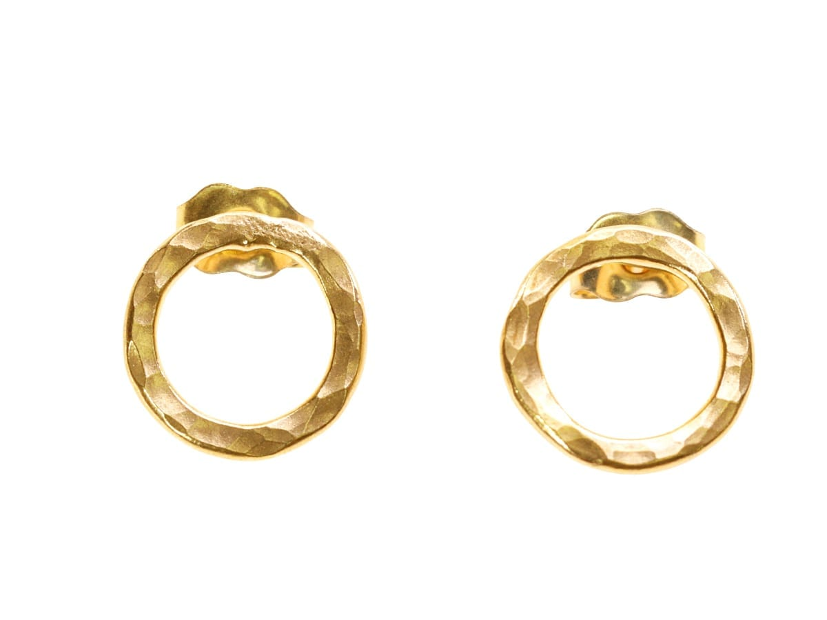 Gold Cute stud earrings catalog photo