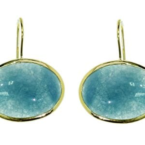 Earrings Aquamarine -0