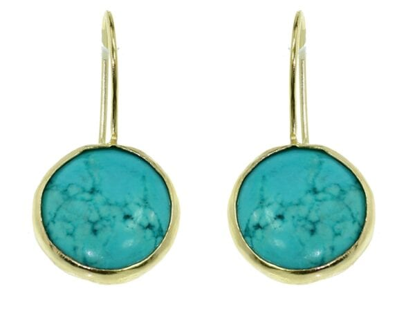 Chilean Turquoise earrings-0